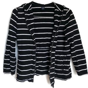 Basic Editions striped hoodie